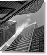 The Structures Of San Francisco 3 Metal Print