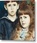 The Stuer Twins Metal Print