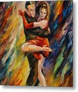 The Sublime Tango  Metal Print