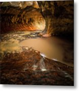 The Subway - Zion National Park Metal Print