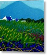 The Sugar Loaf County Wicklow Ireland Metal Print