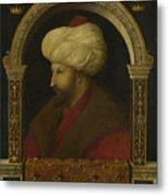 The Sultan Mehmet II Metal Print