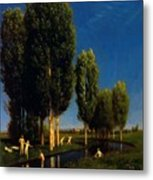 The Summer Day 1881 Metal Print