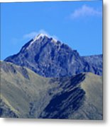 The Summit Of Mount Cotacachi Metal Print