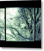 The Sun Moves The Days. Metal Print