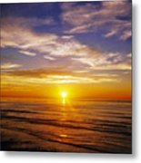 The Sun Says Goodnight Metal Print