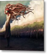 The Sundered Metal Print by Ethan Harris
