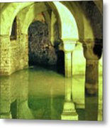The Sunken Crypt Of San Zaccaria Metal Print