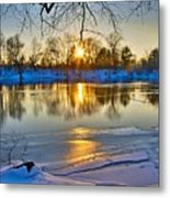 The Sunny Side Metal Print
