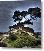 The Sun's Retreat Metal Print