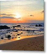 The Sunset Of Maui Metal Print