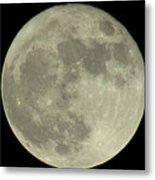 The Super Moon 3 Metal Print