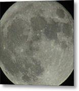 The Super Moon 4 Metal Print