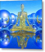 The Superficial Illusion Of Duality Metal Print