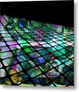 The Surface Of Color Metal Print