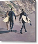 The Surfers Metal Print