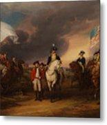 The Surrender Of Lord Cornwallis At Yorktown Metal Print