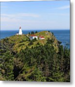 The Swallowtail Lightstation Metal Print