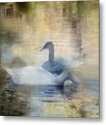 The Swans Metal Print