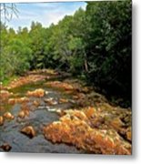 The Swift River In South Tamworth Metal Print