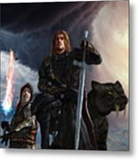 The Sword Of The South Metal Print