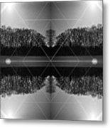 The Symmetry Of Light  Metal Print