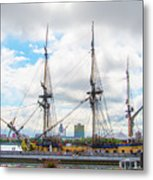 The Tall Ship Hermione - Philadelphia Pa Metal Print