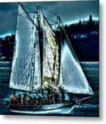 The Tall Ship Lavengro Metal Print