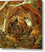 The Tangled Webs We Weave Metal Print