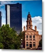 The Tarrant County Courthouse Metal Print