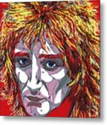 The Tartan Of Rod Stewart Metal Print