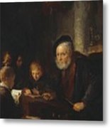 The Teacher 1645 Metal Print
