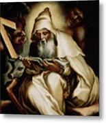 The Temptation Of Saint Anthony Metal Print