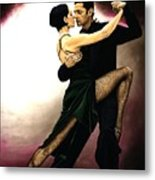 The Temptation Of Tango Metal Print