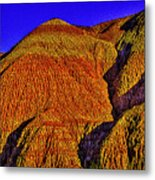 The Tepees Up Close Metal Print