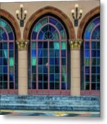 The Terrace At The Ringling Estate - Sarasota, Florida Metal Print