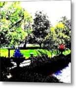 The Terrace Metal Print