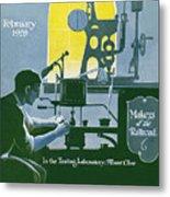The Testing Laboratory Metal Print
