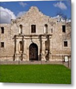 The Texas Alamo Metal Print