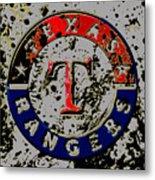 The Texas Rangers 6b Metal Print