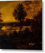 The Thames From Richmond Hill Metal Print