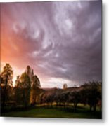The Theatre Of Clouds Metal Print