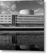 The Theatre Of Oulu  3 Metal Print