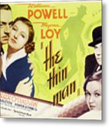 The Thin Man 1934 Metal Print