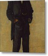 The Thinker, Portrait Of Louis Kenton Metal Print
