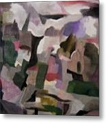 The Thoughts Of Cezanne Metal Print