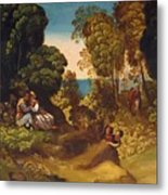 The Three Ages Of Man 1515 Metal Print