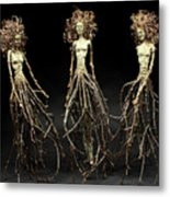 The Three Graces Dance Metal Print