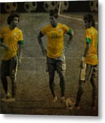 The Three Kings Marcelo Hulk Neymar Os Tres Reis  Metal Print