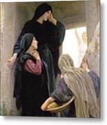 The Three Marys At The Tomb Metal Print